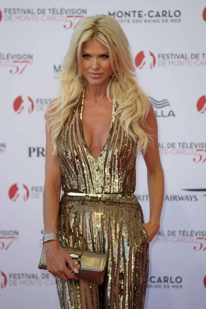 Victoria Silvstedt - 57th Monte-Carlo Television Oopening Ceremony