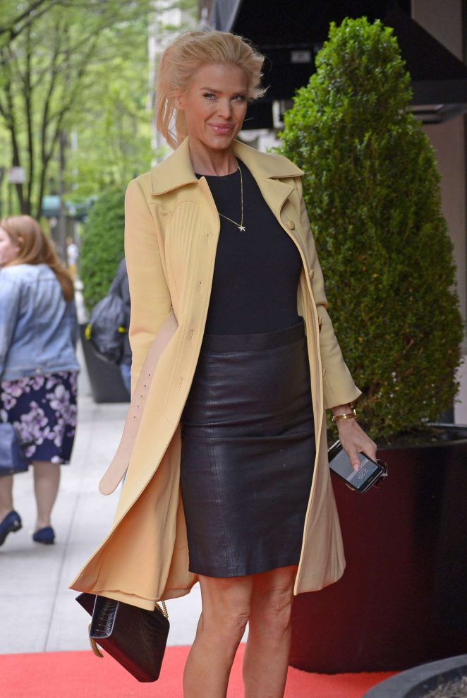 Victoria Silvstedt - Arriving at The Mark Hotel in New York