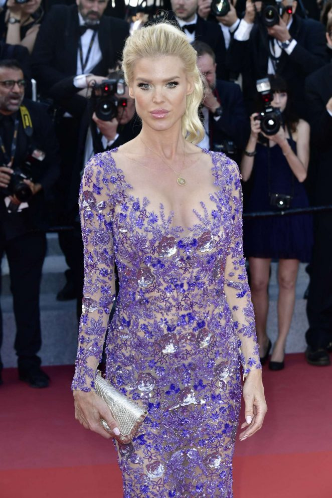 Victoria Silvstedt – 'Ash Is The Purest White' Premiere at 2018 Cannes Film Festival