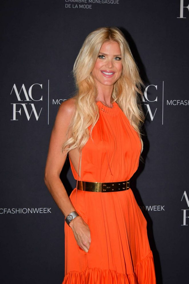Victoria Silvstedt at Monte-Carlo Fashion Week Gala and Awards Ceremony in Monaco