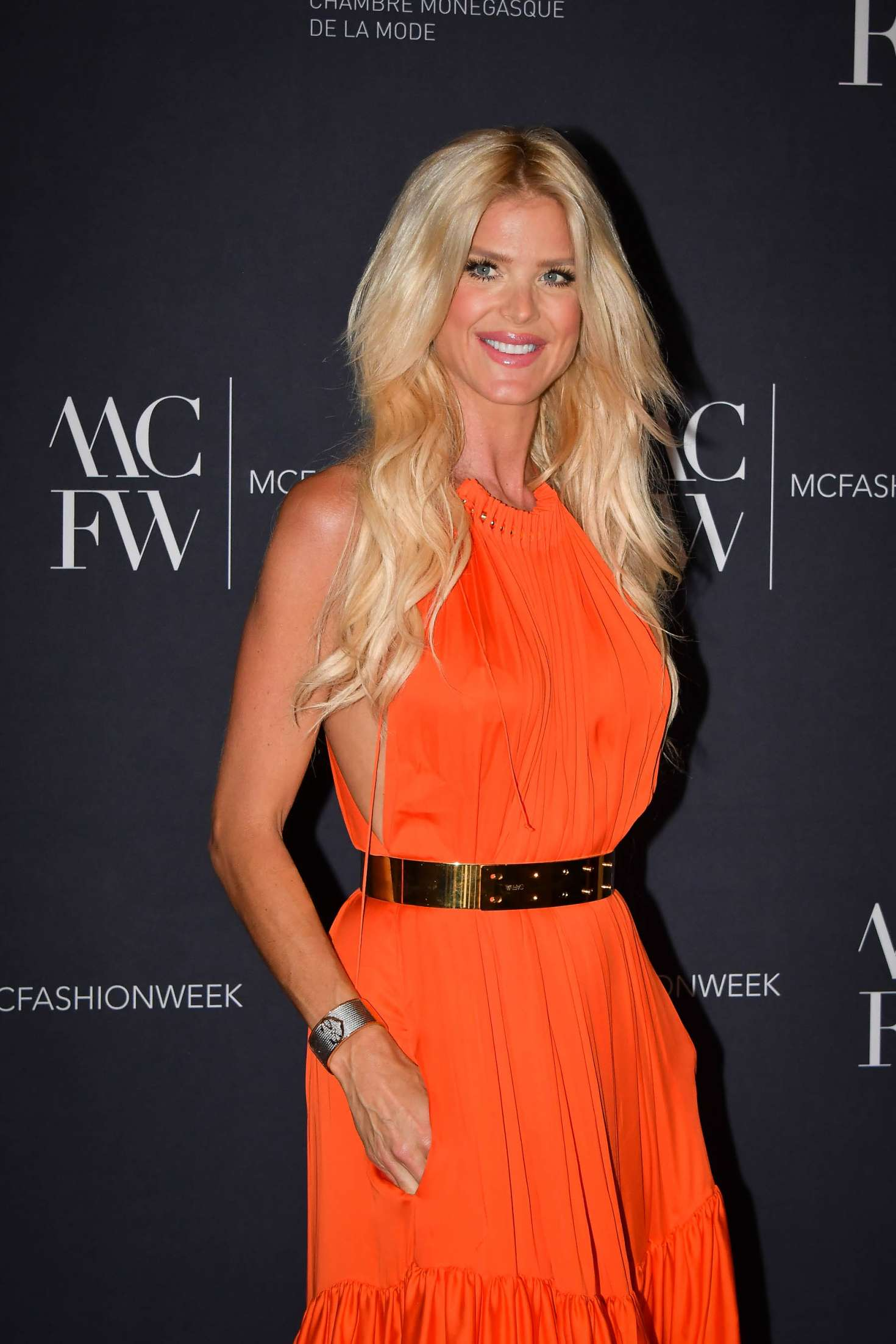 Victoria Silvstedt At Monte Carlo Fashion Week Gala And Awards Ceremony In Monaco