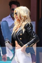 Victoria Silvstedt - Attends the 18 finals of the Rolex Monte-Carlo Masters