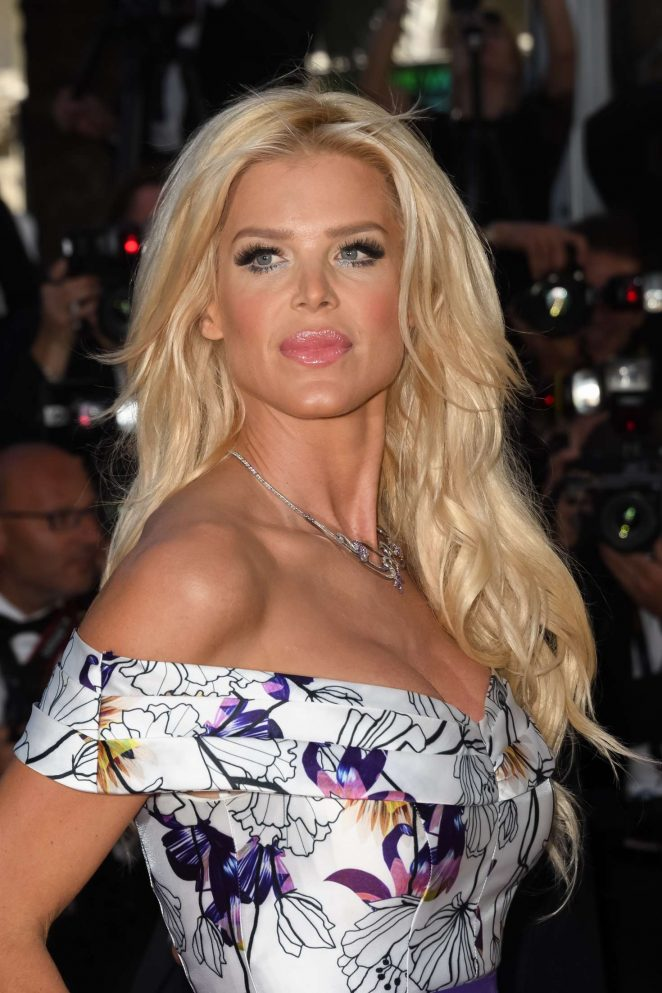 Victoria Silvstedt - 'Okja' Premiere at 70th annual Cannes Film Festival
