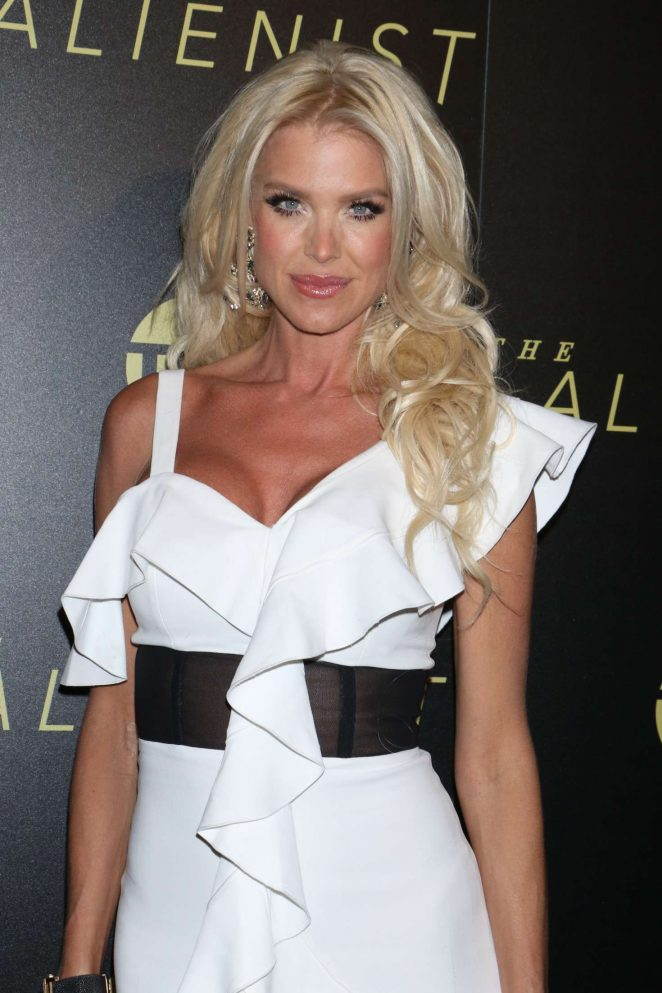 Victoria Silvstedt - TNT's 'The Alienist' Premiere in New York City