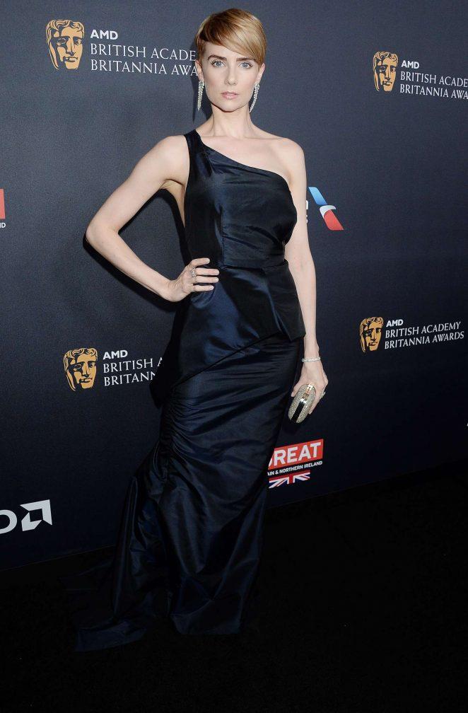 Victoria Summer - 2016 AMD British Academy Britannia Awards in Beverly Hills