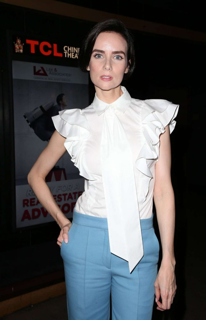 Victoria Summer - 'Garlic and Gunpowder' Premiere in Los Angeles