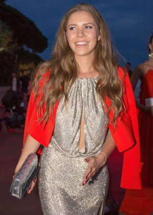 Victoria Swarovski - Arrives for Magnum Moschino Party in Cannes