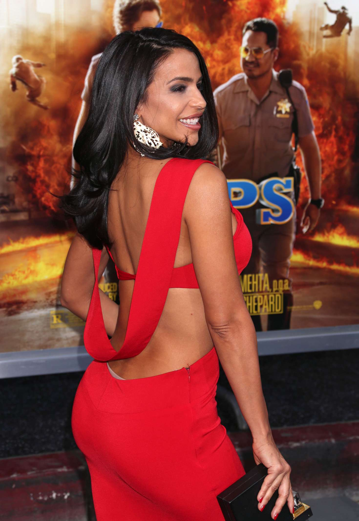 Vida Guerra – 'CHiPS' Premiere in Hollywood