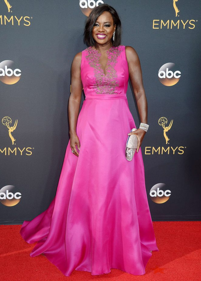 Viola Davis - 2016 Emmy Awards in Los Angeles