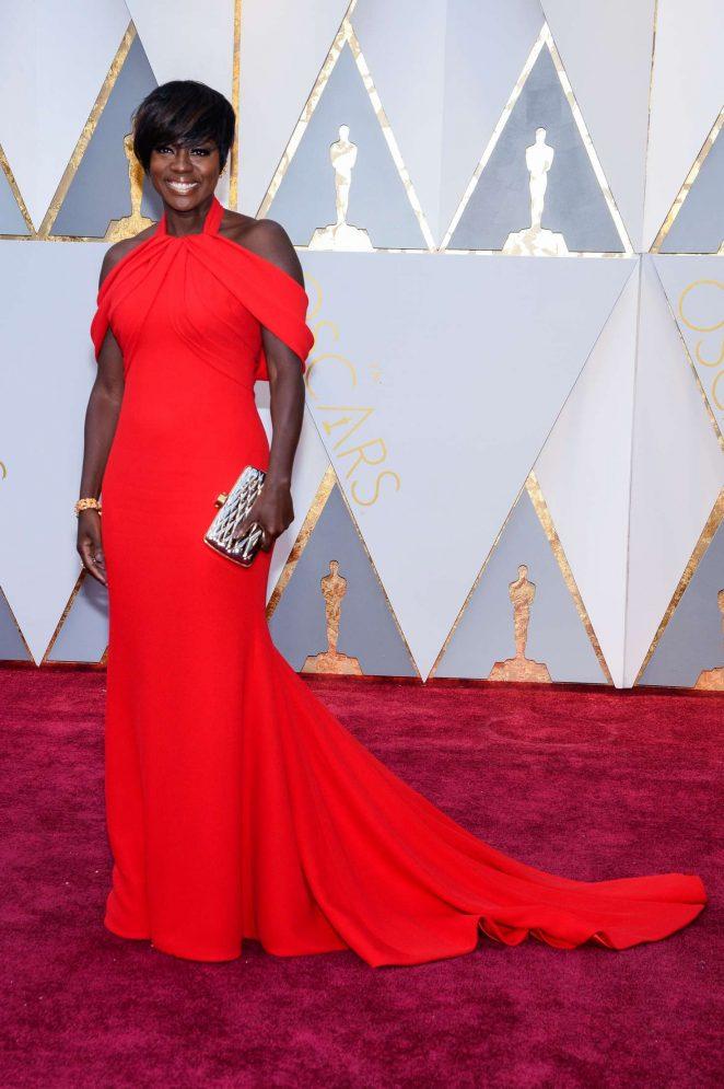 Viola Davis: 2017 Academy Awards -04