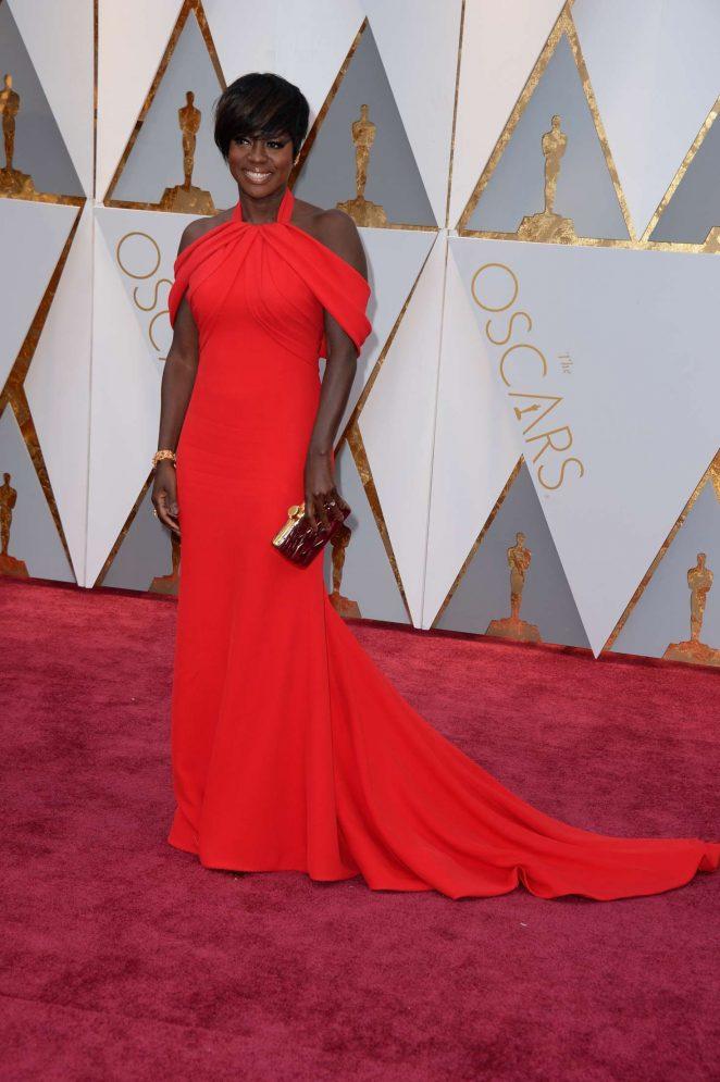Viola Davis: 2017 Academy Awards -07