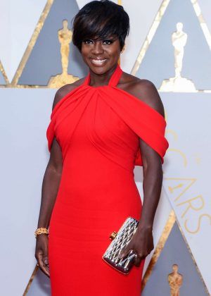 Viola Davis - 2017 Academy Awards in Hollywood