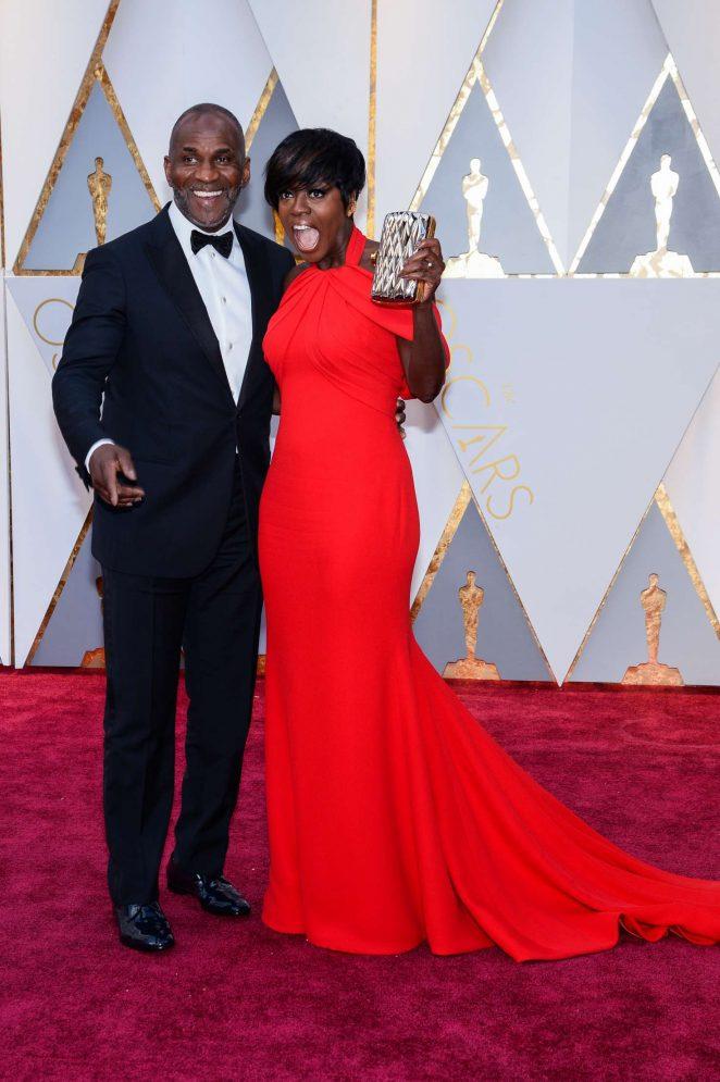 Viola Davis: 2017 Academy Awards -14