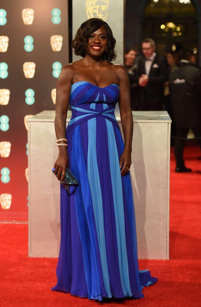 Viola Davis: 2017 BAFTA Awards -01