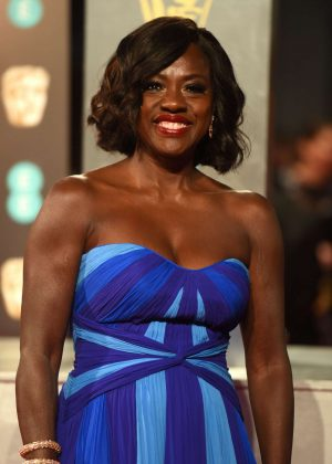 Viola Davis - 2017 British Academy Film Awards in London
