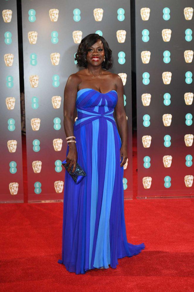 Viola Davis: 2017 BAFTA Awards -05