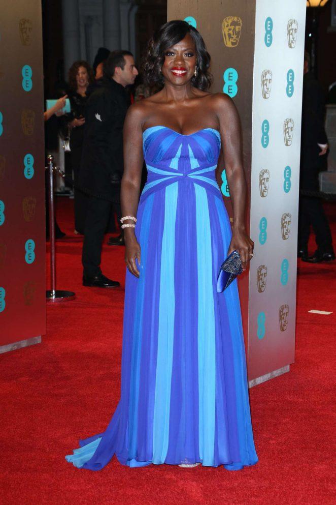 Viola Davis: 2017 BAFTA Awards -06