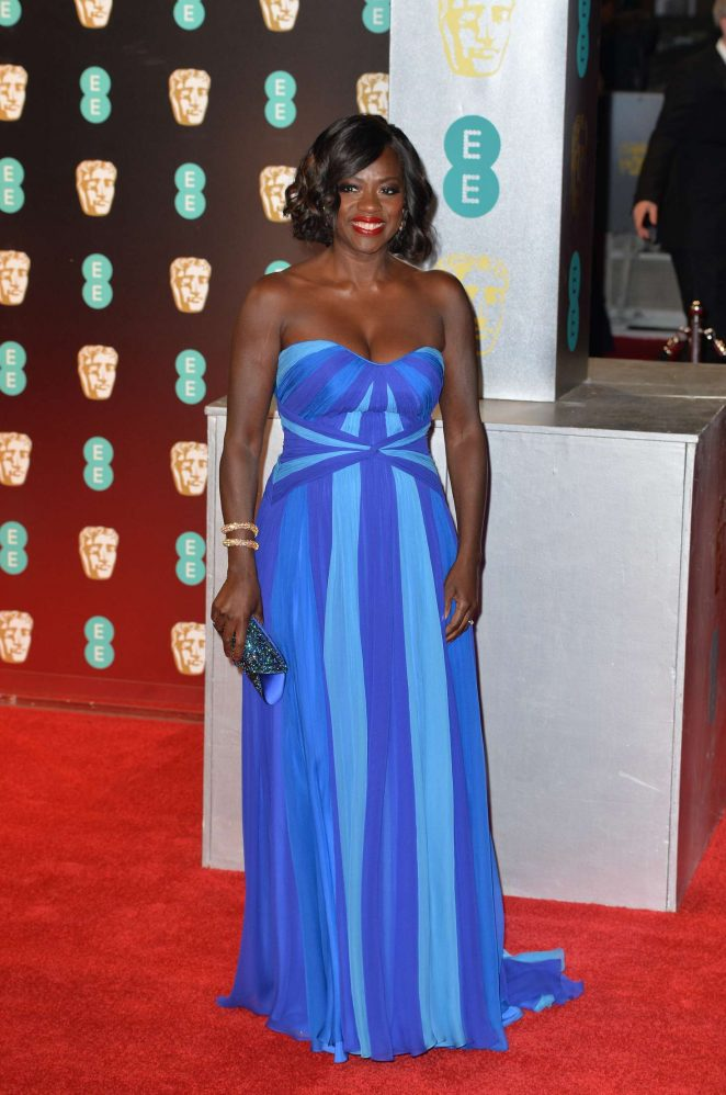 Viola Davis: 2017 BAFTA Awards -07