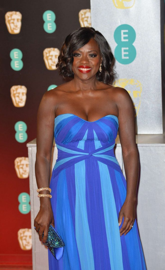 Viola Davis: 2017 BAFTA Awards -09