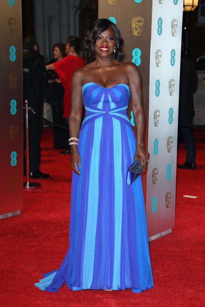 Viola Davis: 2017 BAFTA Awards -11