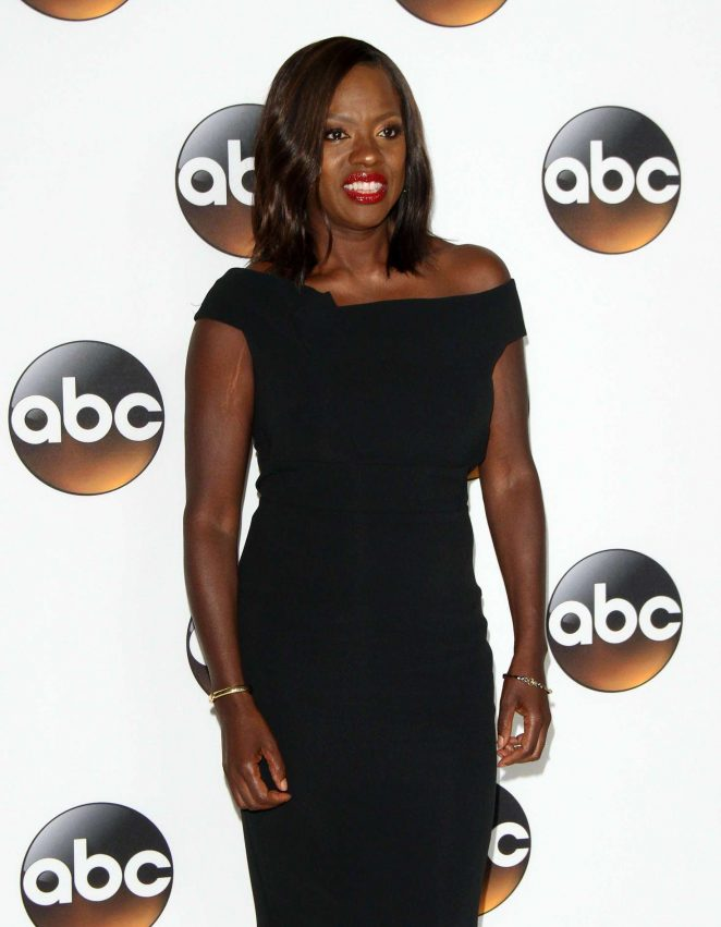 Viola Davis - 2017 Disney ABC TCA Summer Press Tour in Beverly Hills