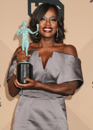 Viola Davis - 2016 SAG Awards in Los Angeles