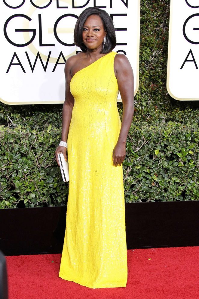 Viola Davis – 74th Annual Golden Globe Awards in Beverly Hills