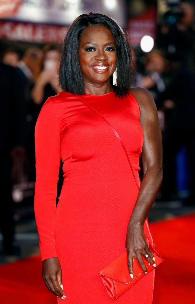 Viola Davis - 'Widows' Premiere at 62nd BFI London Film Festival in London