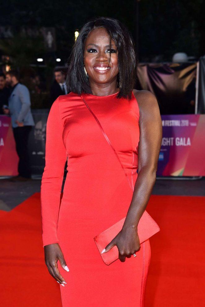 Viola Davis 2018 : Viola Davis: Widows Premiere at 62nd BFI London Film Festival -09