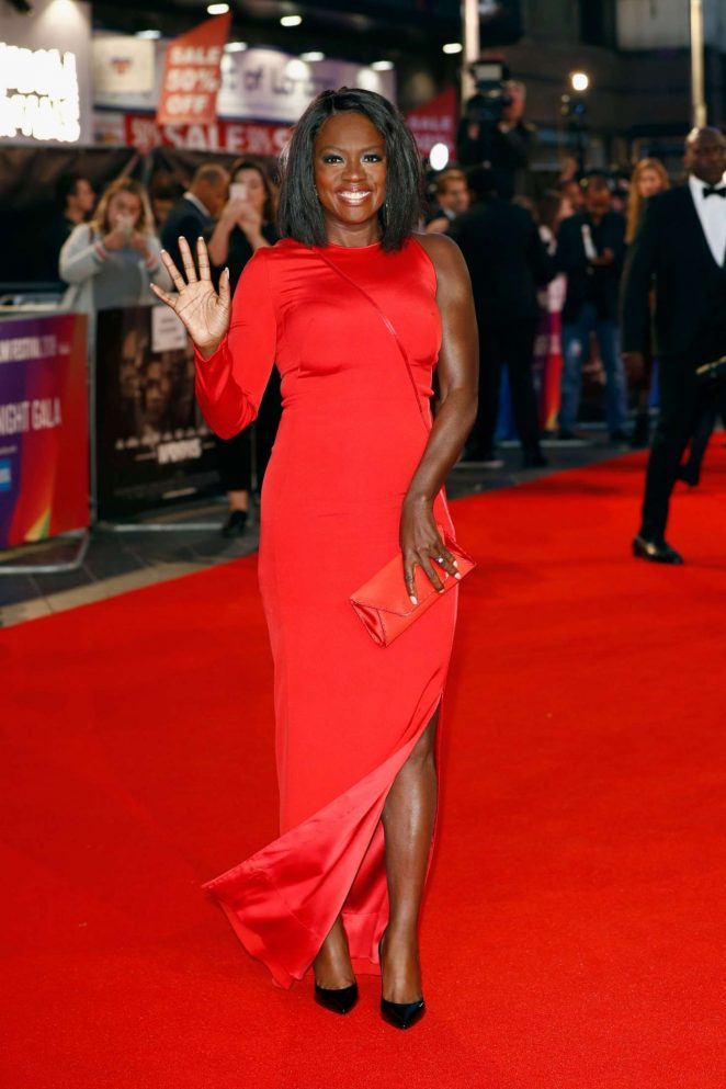 Viola Davis 2018 : Viola Davis: Widows Premiere at 62nd BFI London Film Festival -11