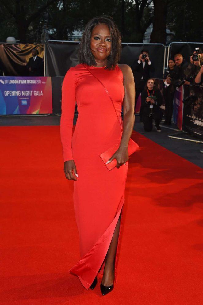 Viola Davis 2018 : Viola Davis: Widows Premiere at 62nd BFI London Film Festival -12