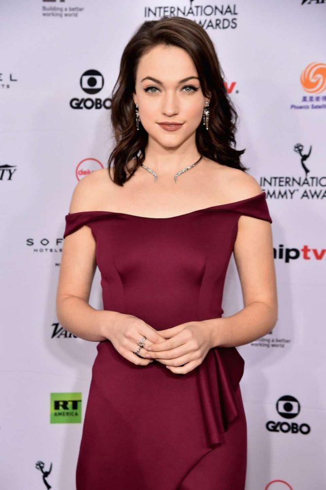 Violett Beane – 46th Annual International Emmy Awards in NYC