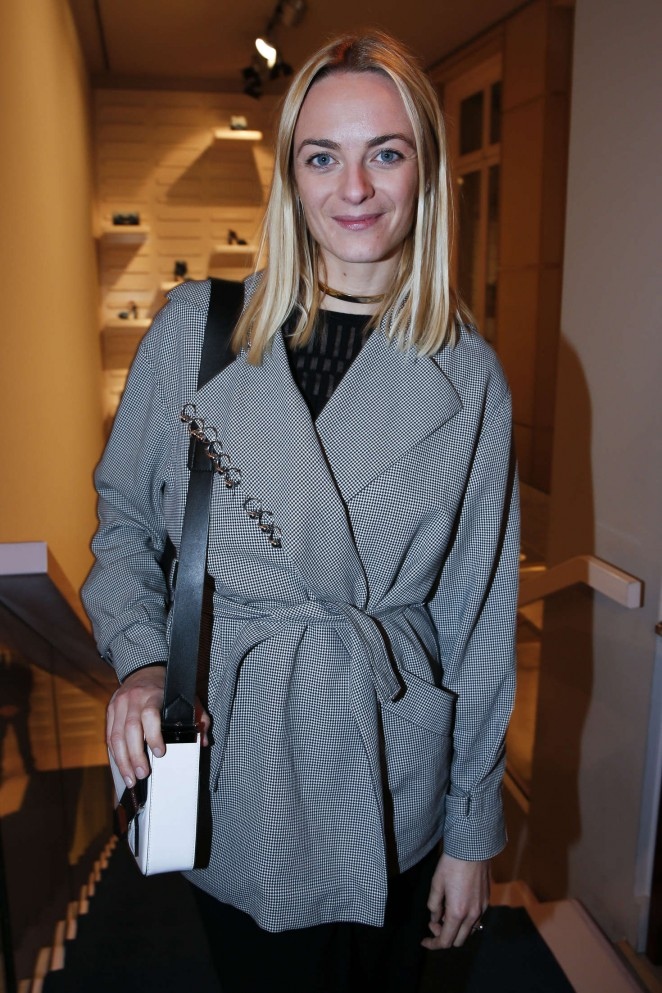 Virginie Courtin-Clarins -Roger Vivier Prismick Denim Party 2016 in Paris