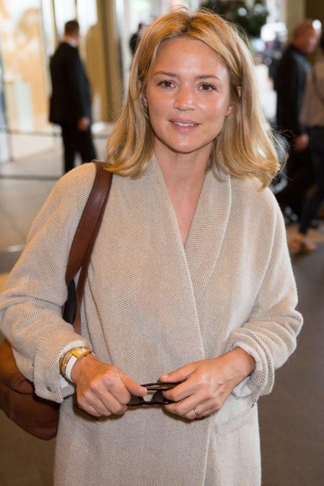 Virginie Efira – Leaving the Hotel Marriott in Cannes