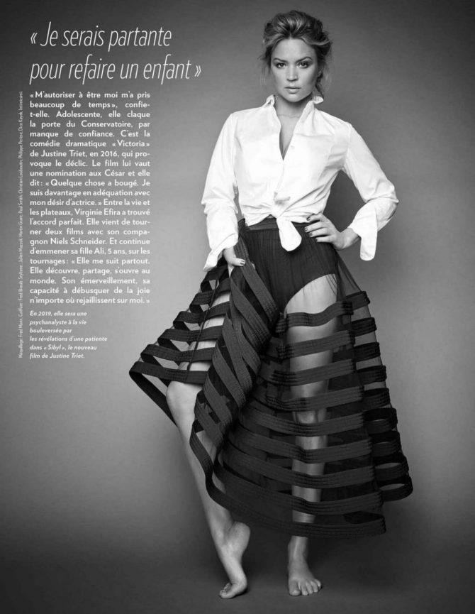 Virginie Efira – Paris Match Magazine (January 2019)