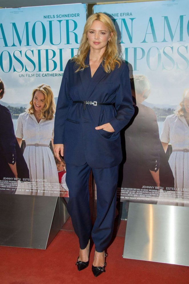 Virginie Efira – 'Un Amour Impossible' Premiere in Paris