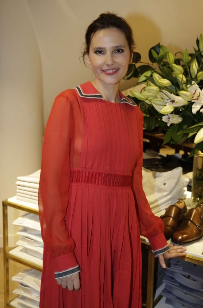Virginie Ledoyen - Tommy Hilfiger Boutique Opening Party in Paris