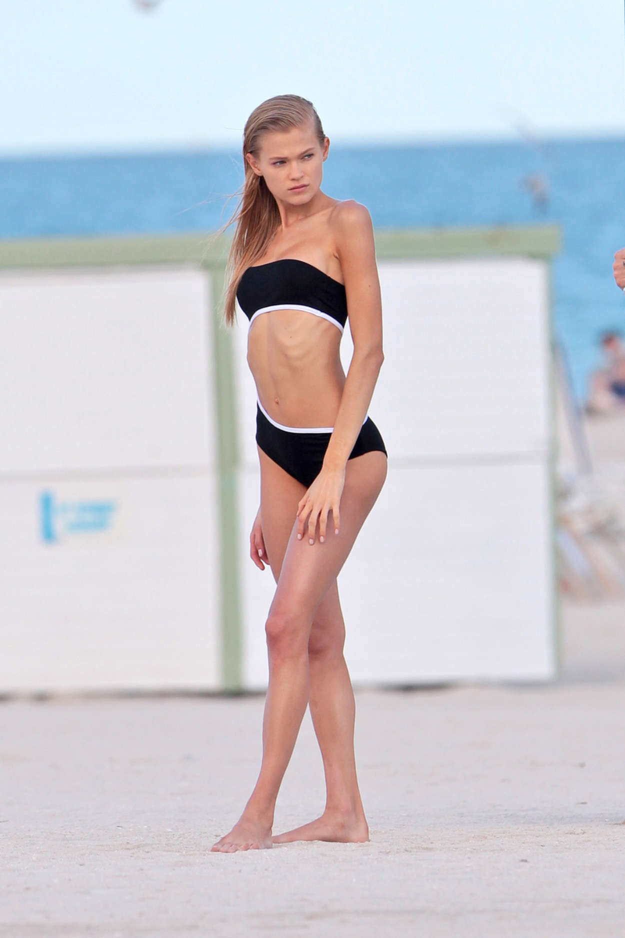 Vita Sidorkina 2015 : Vita Sidorkina in Black Bikini -17