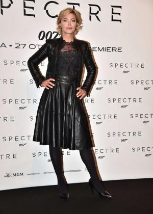 Vittoria Belvedere - 'Spectre' Premiere in Rome