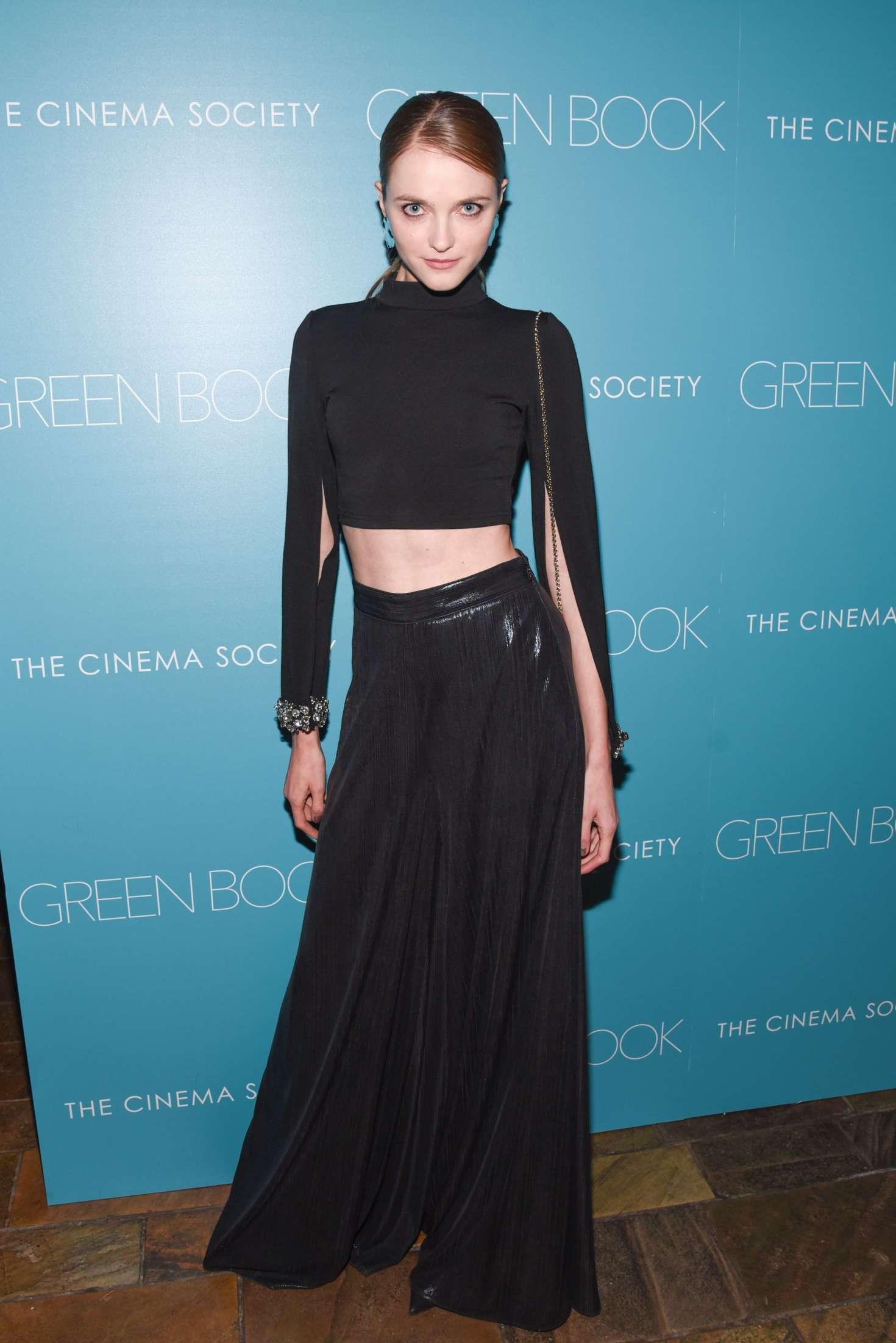 Vlada Roslyakova - 'Green Book' Screening in New York