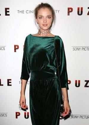 Vlada Roslyakova - 'Puzzle' Screening in New York
