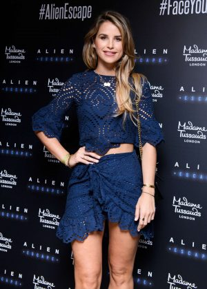 Vogue Williams - Alien Escape Launch at Madame Tussauds in London