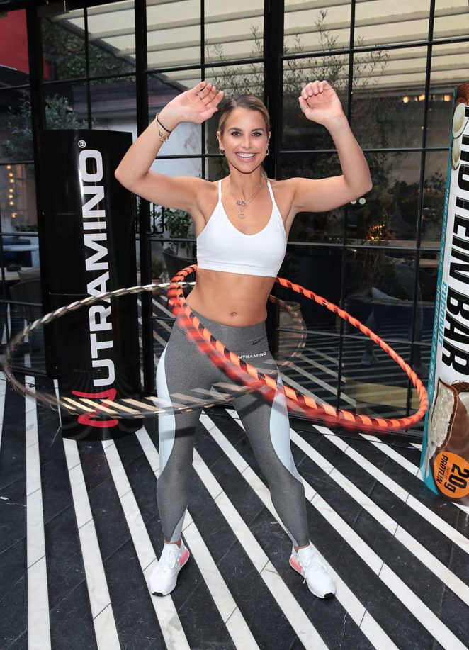 Vogue Williams - Announced as ambassador for Nutramino sports nutrition brand in Dublin