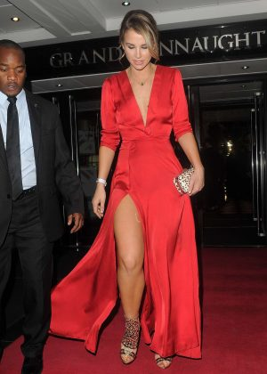 Vogue Williams - Arriving at British LGBT Awards 2016 in London