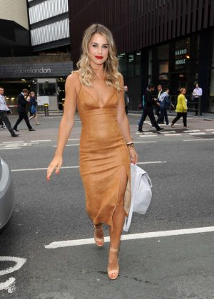 Vogue Williams at The Walkers Crisps Sarnie Club Launch in London