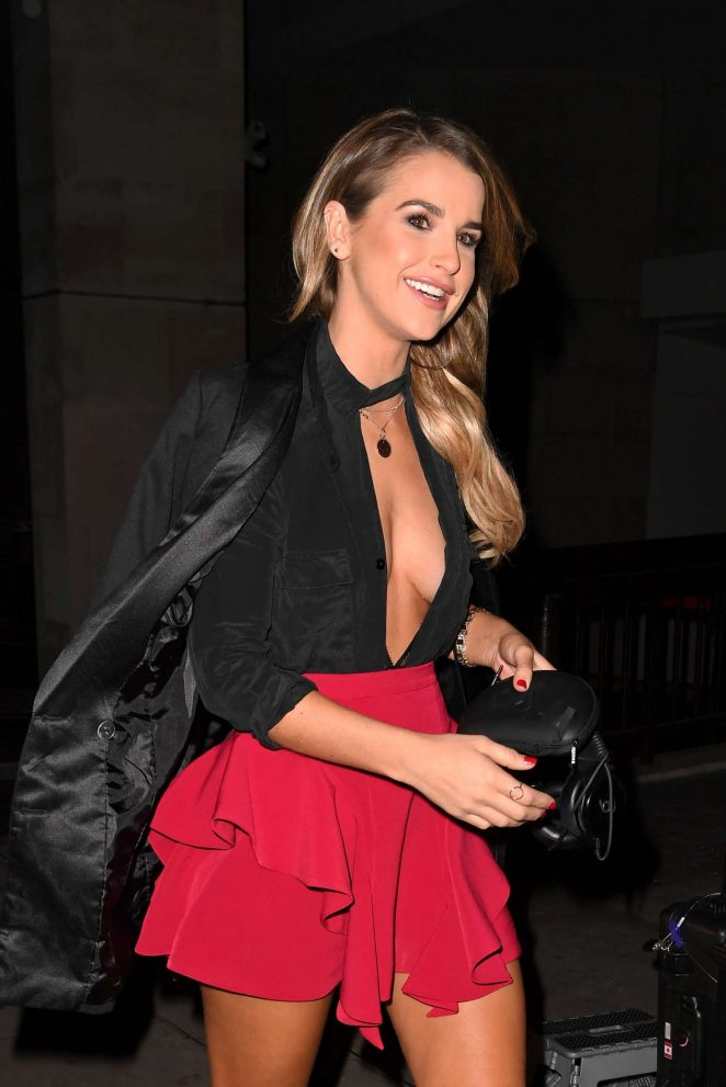Vogue Williams - Boux Avenue AW16 Campaign Launch in London