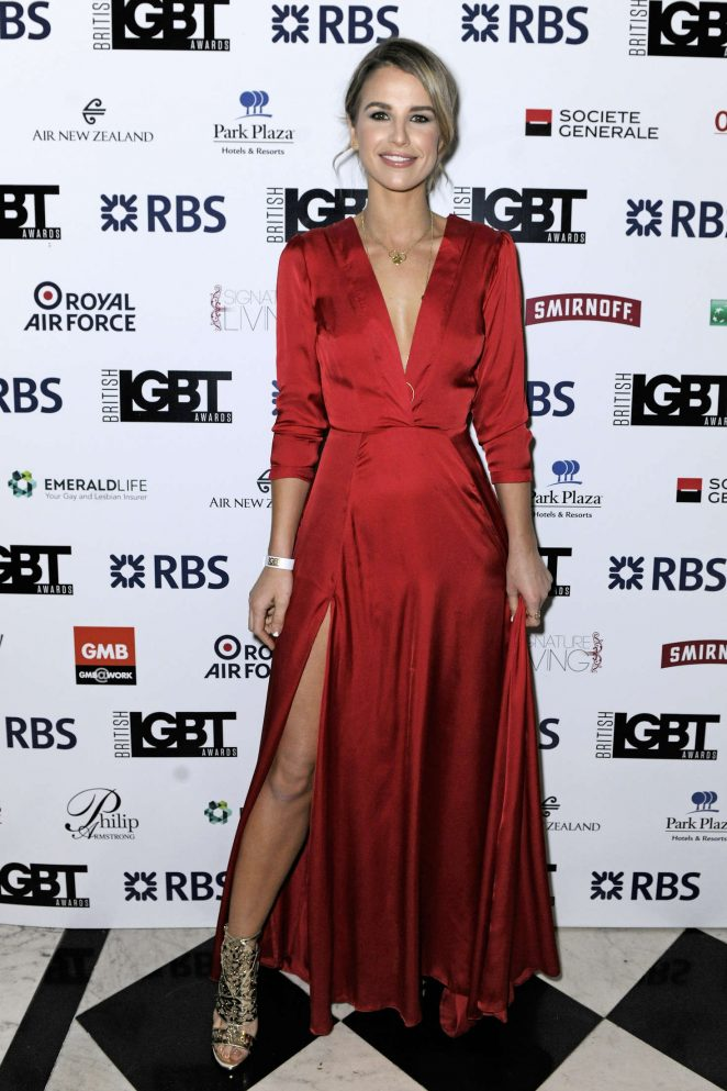 Vogue Williams - British LGBT Awards 2016 in London