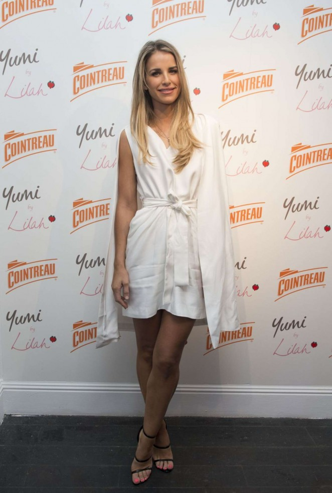 Vogue Williams - Cointreau Launch Party for Yumi By Lilah 2016 Collection in London
