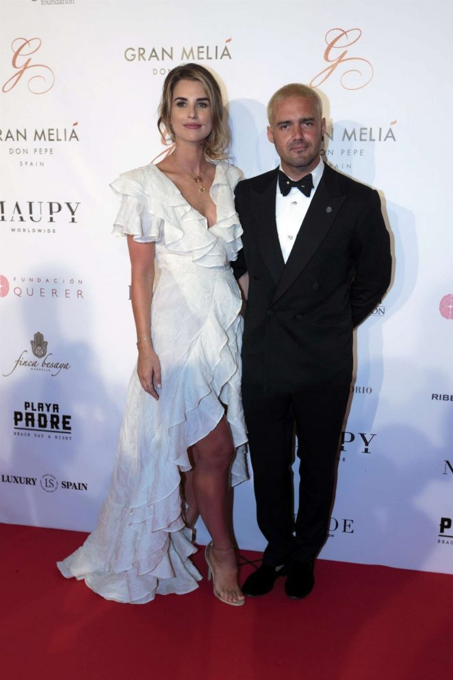 Vogue Williams - Global Gift Gala 2017at Melia Don Pepe in Marbella