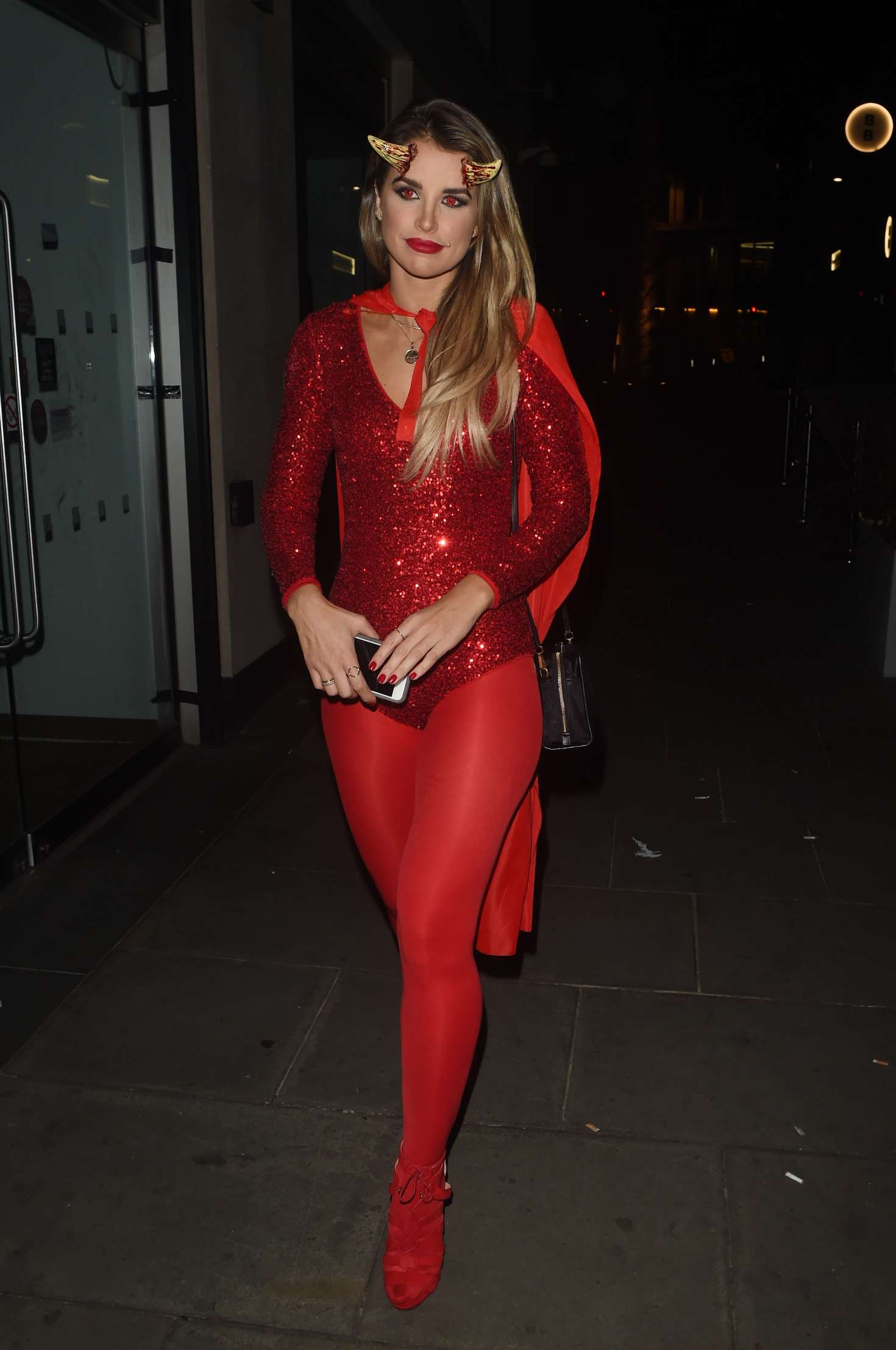 Vogue Williams - Halloween Party at M Restaurant in London